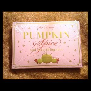Authentic Too Faced Pumpkin Spice &Everything Nice